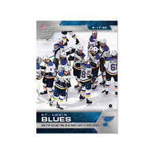 St. Louis Blues SCP74 2020 NHL TOPPS NOW Hockey Sticker Print Run 171 Only