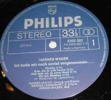 Hannes Wader - Volkssänger (LP, Album, Gat) Vinyl Schallplatte - 109709