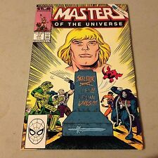 MASTERS OF THE UNIVERSE #13 Marvel Comics Copper Age Key Final Last Issue RARE B