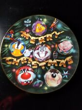 """Warner Bros. """"Reflections Of A Looney Christmas"""" Collectors  Edition Plate"""
