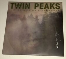 DAVID LYNCH Signed TWIN PEAKS Double Colored Vinyl SCORE LP PROOF JSA COA