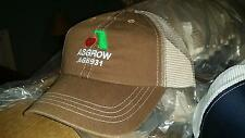 New Asgrow AG6931 Mesh Back Trucker Hat Cap New Old Stock Unworn Free Shipping