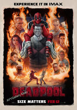 """Deadpool Imax Movie Poster - (24""""x36"""") - Free S/H"""