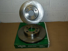Ford Galaxy All With15in Wheels 1995-2001 VL853 Vented Front Brake Discs (Pair)