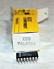 ECG 74LS74A Integrated Circuit TTL - CASE: DIP1
