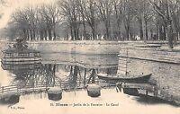 BF5349 jardin de la fontaine le canal nimes france    France