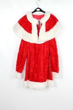 Women's Miss Christmas Santa Fancy Dress Costume 38 cm (C15a)  Faux Fur