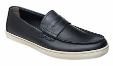 COLE HAAN Hyannis BLACK LEATHER Moccasin Sneaker PENNY LOAFER Shoes Sz 8.5 M NEW