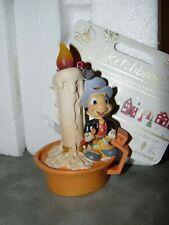 New Disney Pinochio Jimmy Cricket Light Up Sketchbook Ornament NIB