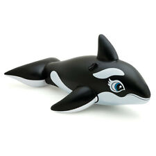 Intex Giant 193cm Inflatable Floating Whale Ride On Pool/Swimming Toy Kids 3y+