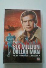 The Six Million Dollar Man: Season 1 DVD, Richard Anderson, Lee Majors, used
