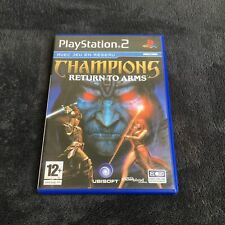 PS2 Champion's Return To Arms FRA CD état Neuf Playstation 2