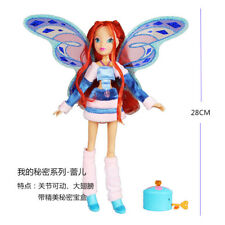Newest Winx Club Doll rainbow colorful girl Action Figures Fairy bloom