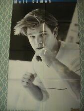 Matt Damon / Natalie Imbruglia Magazine Poster