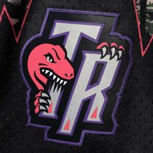 Mitchell & Ness Toronto Raptors MILITARY TIGER CAMO CARTER  Swingman Shorts