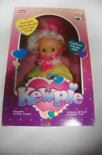 "1993  8"" posable Rose Art Adorable CLOWN Kewpie Doll  in Box"