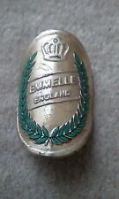 VINTAGE EMMELLE Bicicletta Head Badge