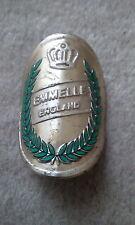 Vintage Emmelle Bicycle Head Badge