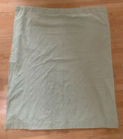 Pottery Barn Kids Green White Gingham Blackout Drapes Panel Curtain 44X63