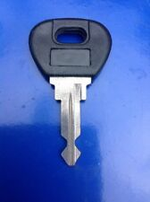 Ignition Lock Blank Key Classic Renault Peugeot Citroen Plastic Head