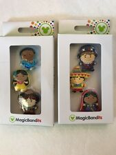 Disney Magic Band Bandits It's-A-Small-World Lot of 2 Packages 6 Different-Dolls
