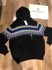BNWT RALPH LAUREN Hooded Jumper Cashmere Blend Sweater Size XL RRP £ 255