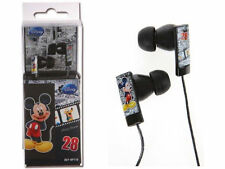 Mickey Mouse DSY-HP710 Earphones Headphones Black Original Disney Licensed