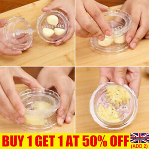 Garlic Ginger Grinder Mincer Press Peeler Crusher Twist Squeezers Kitchen UK