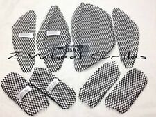 07-14 CAN AM SPYDER GS RS ST BLACK FAIRING & TAIL SCREENS GRILLS MESH VENTS