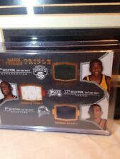 2007-08 UPPER DECK SP ROOKIE THREADS KEVIN DURANT/THADDEUS YOUNG/BRANDON WRIGHT