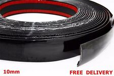 10mm (1cm) x 4m Black Styling Strip Trim Car Van Truck Boat Pickup ADHESIVE