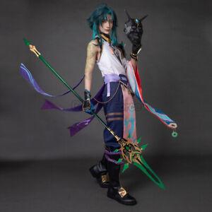 Genshin Impact Xiao Cosplay Costume C00175
