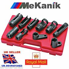 "7pc Oxygen Injector Sensor Socket Set 1/2"" Lambda 22,27 & 29mm Universal Tool"