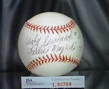 ANDY SEMINICK JSA AUTHENTIC SIGNED NATIONAL LEAGUE BASEBALL AUTOGRAPH
