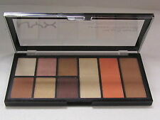 NYX  Palette The Go To Palette Shadows Highlight Blush Contour GTP01 Wanderlust