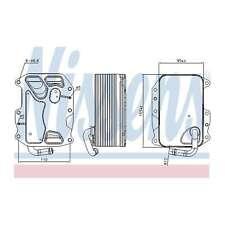 Fits Audi A6 Allroad 4G 3.0 TDI Quattro Genuine Nissens Gearbox Oil Cooler