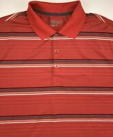 Nike Golf Tour Performance Polo Shirt Men's Large Short Sleeve Red Dri Fit