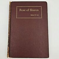 Rose of Sharon by Robert G. Lee 1st edition 1947 Zondervan Publ Rare Book BK4