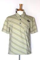NEW Ogio Men's Striped Short Sleeve Golf Polo Shirt Size Large