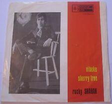 ROCKY SHAHAN - VIBEKE/SHERRY TREE 45  YUGOSLAVIAN PRESSING Classic Guitar Beat