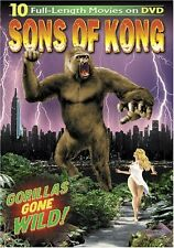 Sons of Kong [Limited Edition 3-D Pop Up] [3 Discs] (2005, DVD NEW)