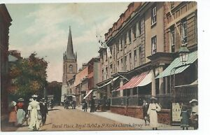 Printed postcard of Davids place  Jersey Channel Islands in good condition