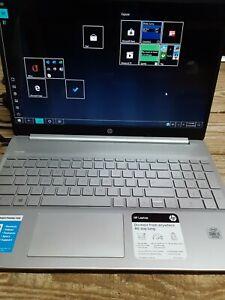 HP 15-dy1024wm 15.6 inch (128GB SSD, Intel Core i3 10th Gen 1.20GHz, 4GB)