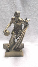 gold male Basketball statue trophy resin marco superster Rst503
