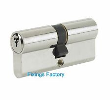 Securit S2057 Anti Snap Anti Bump Euro Cylinder Lock With 3 Keys 35 x 35mm