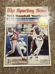 The Sporting News 1984 Baseball Yearbook Ron Kittle Darryl Strawberry