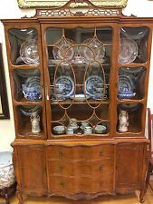 Antique/Vintage French China Cabinet/Hutch -Perfect Condition-