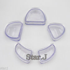 Dental Lab Plaster Model Base Molds 5 pcs Brand New