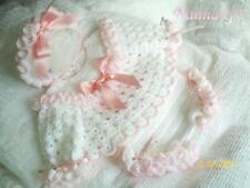 """Little Pierrot"" 4 pce Set for New Baby or Reborn Doll (Crochet Instruction) #18"