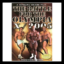 BATTLE FOR THE OLYMPIA 2005 DVD Bodybuilding Mr Olympia IFBB NPC Ronnie Coleman